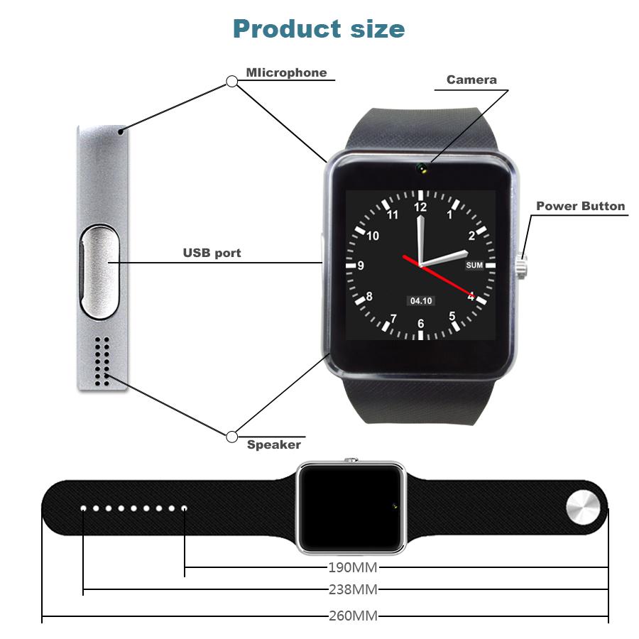 Gt08 Smart Watch Инструкция