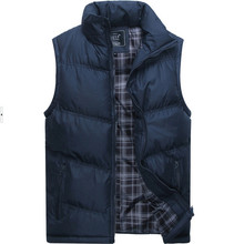 2015 Men Winter Coat Warm Sleeveless Jacket Brand New Men's Fashion Outerwear Casual Vest Male Cotton Military Waistcoat ZHY2028(China (Mainland))
