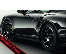 600mmx1520mm Glossy Black Auto Car Styling Covers Body Vinyl Wrap Film Adhesive Air Release Sticker Decal