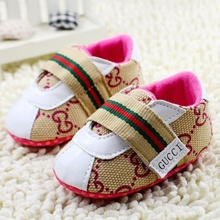 2016 new Baby shoes lovely soft sneakers boys girls infant toddler crib 3 sizes 0-12 months first walkers newborn baby footwear(China (Mainland))