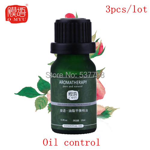 pure essential oil,carrier oil essential oils essential oil 10ML*3pcs repair skin and suit for oily , acne, and sensitive skin(China (Mainland))
