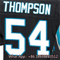 100% Stitched With Customized #1 Cam #13 Kelvin #54 Shaq #58 Thomas #59 Luke #88 Greg Men's White Blue Black Jersey(China (Mainland))