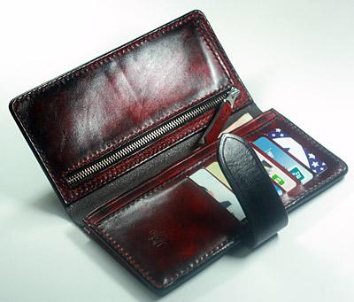 [C-015] DIY leather handbags wallet minimalist style long purse money cloth pattern drawings.<br><br>Aliexpress