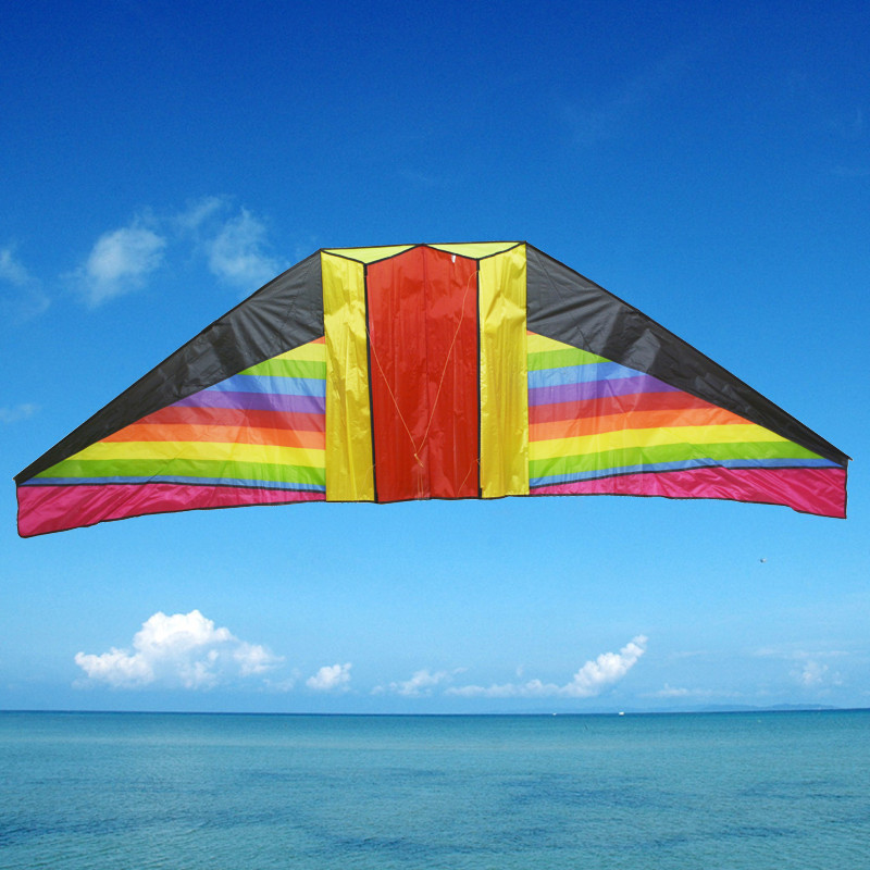 240 cm stereoscopic rainbow kite glider Fly smooth manufacturer easygroup beautiful kite(China (Mainland))