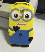 3D Cartoon Silicone Despicable Cute Yellow Minion Soft Back Case Cover LG G3 Stylus D690 - Beauty( Shenzhen store Co., Ltd )