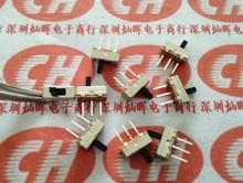 10 шт./лот SS12D00G4 маленький переключатель 3 фута 2 файлов однорядные 3-контактный длинной ручкой 4 мм высокого тона 2.54 мм презентация переключатели