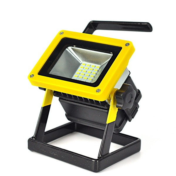 Outdoor Flood Light Does Not Work: 10W Outdoor LED Flood Lights Rechargeable 24 LED