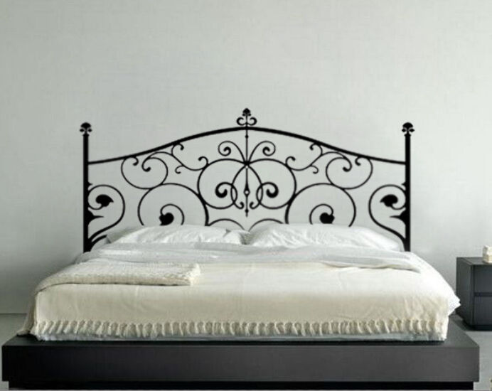 Wall Decor Decal Sticker Removable Vinyl Headboard Wall