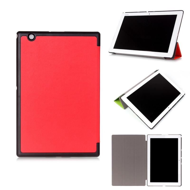 Оригинальный Кожаный Чехол Смарт Стенд Чехол для Для Sony Xperia Tablet Z4 Ultra 10.1 дюймов + Screen Protector + Стилус Подарок стилус