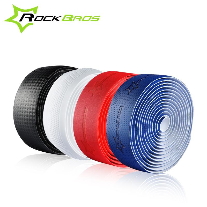 Rockbros Road Cycling Handlebar Belt Anti-slip Anti-sweat Road Bike Bicycle Handlebar Tape Wrap Bicycle Parts Accessories(China (Mainland))