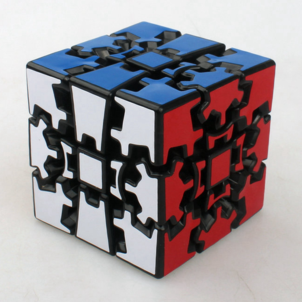 Brand New X-cube 60mm 3x3x3 Gear Magic Cube V2 3D Speed Puzzle Cubes Kids Educational Toys Birthday Gift(China (Mainland))