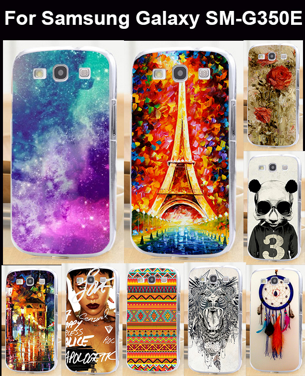 Free shipping 1 piece/lot Moblie phone case hard back cover skin shell for Samsung Galaxy Star Advance SM-G350E(China (Mainland))