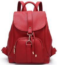 2016 New designer brand fashion black Patent Leather backpack women Designer women backpack backpack female backpacks hot Q5(China (Mainland))