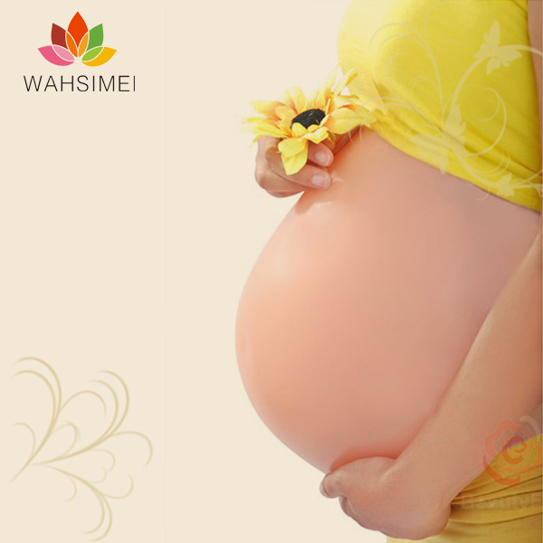 Comfortable artificial silicon belly,fake materinity bump,fake belly bump,beer belly