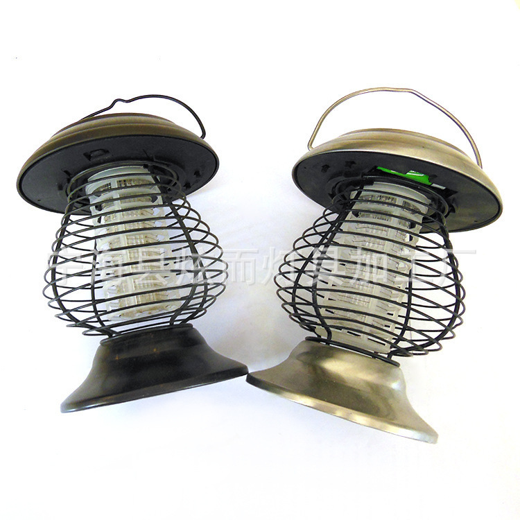 Export 2LED Lawn Light Outdoor Solar Mosquito Killer garden courtyard decorated yx-8675(China (Mainland))
