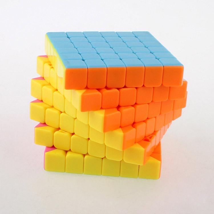 6*6*6 V-Cube 6 Rompecabezas Stickerless Square Magico Cubo Magic Cube Puzzle Blocks Cube Challenge Educational Kids Toys 1316(China (Mainland))