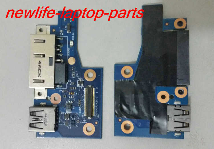 original FOR lenovo S5 YOGA 15 DC POWER USB BOARD LS-B595P left right hinge test good free shipping(China (Mainland))