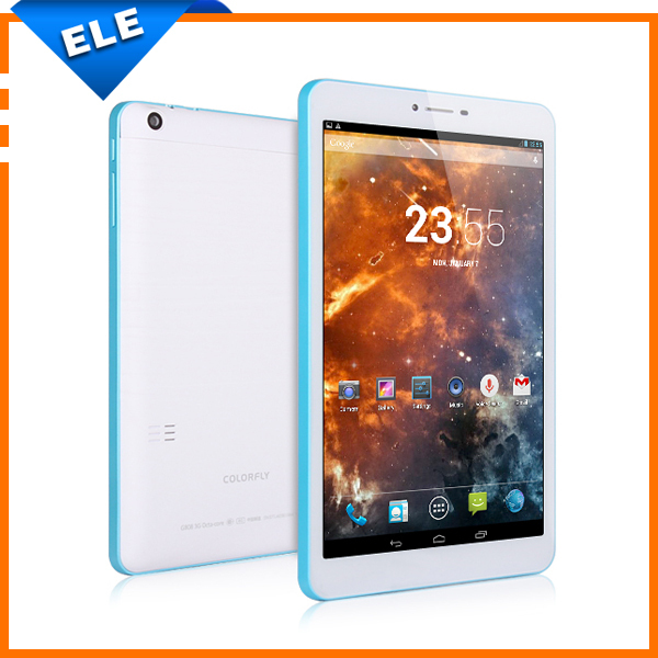 "8.0"" Colorfly G808 3G phone call tablets Android MTK6592 Octa Core 1GB RAM 8GB ROM IPS 1280*800 2.0MP+5.0MP Bluetooth GPS(China (Mainland))"