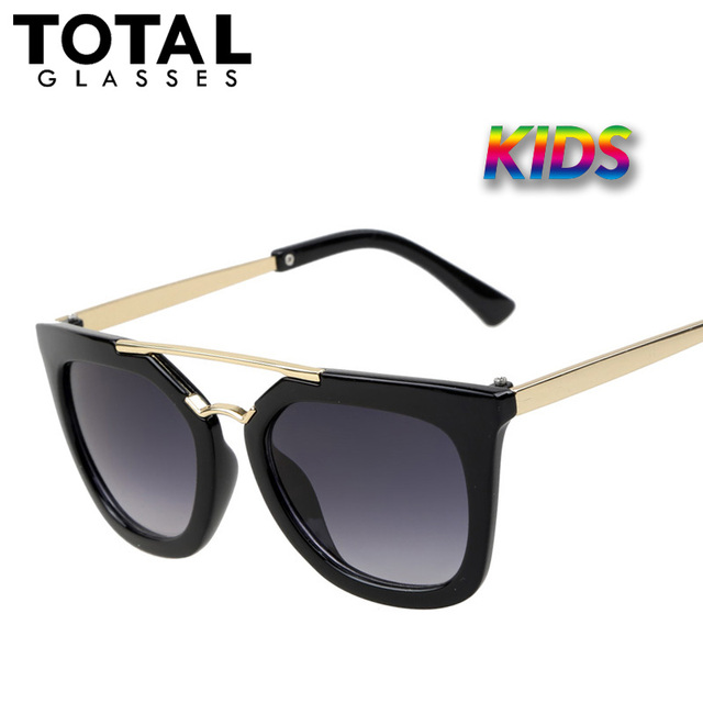 Totalglasses Старинные Детские Солнцезащитные Очки Марка Солнцезащитные очки Дети Очки Милый Модельер Óculos-Де-Сол Infantil Hipster