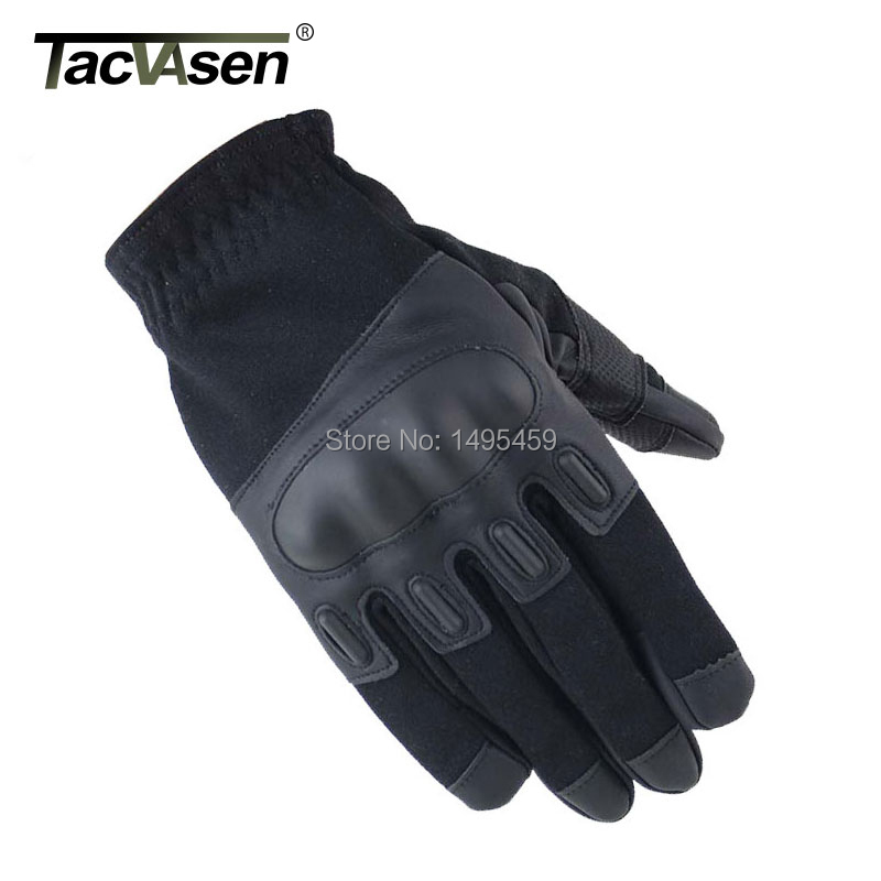 Outdoor Tactical Fitness Gloves Army Military men's gloves Airsoft Bicycle Paintball Assault Hard Leather full finger gloves(China (Mainland))