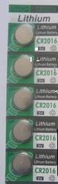 CR2016 button cell 3V celestial electronic e-CR2016 battery  -  Youke Tech store