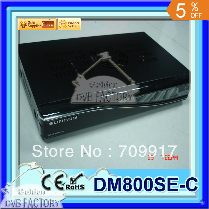 Digital Cable TV Receiver DVB BOX DM800HD SE Cable DVB-C tuner Enigma 2, 400 MHz MIPS Processo(1pc 800se-c)(China (Mainland))