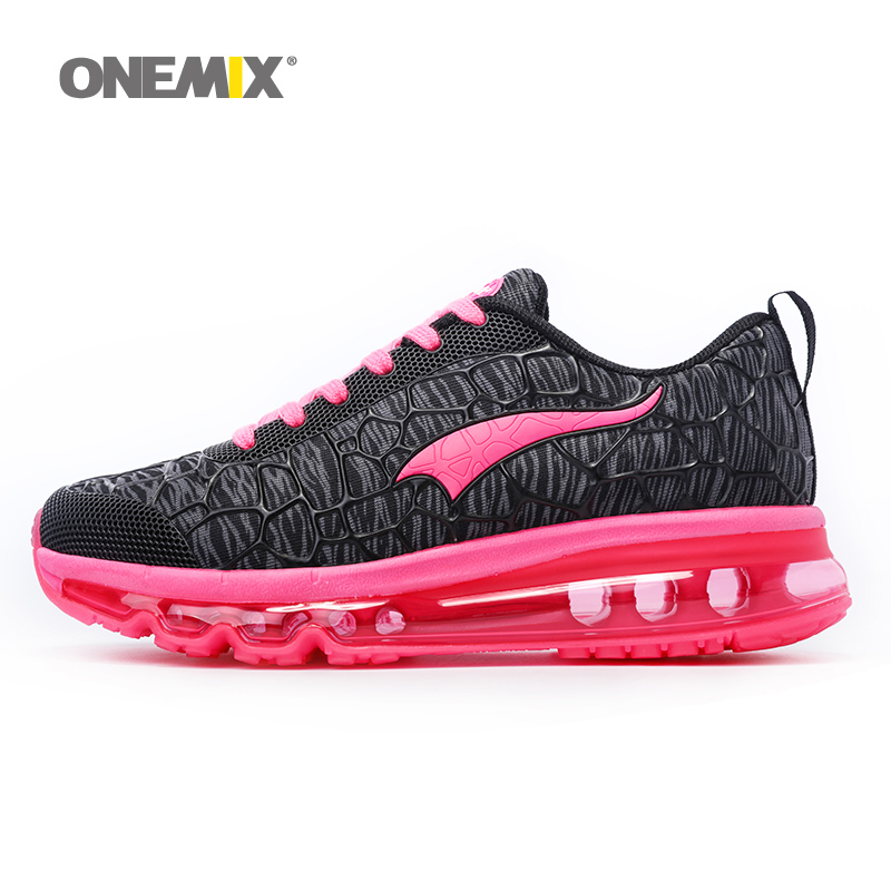 Onemix Newest Womens Sport Sneakers Damping Outdoor Running Shoes Breathable Summer Womens Shoes Free shipping Size EU36-40(China (Mainland))