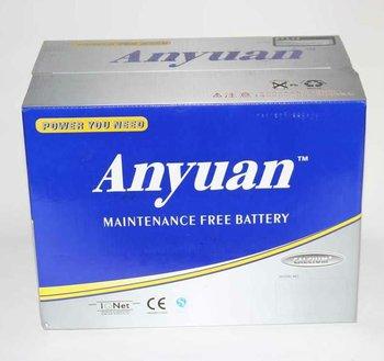 12v 70ah maintenance free battery