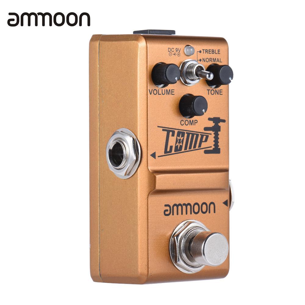 ammoon Nano Series Compressor Guitar Effect Pedal True Bypass Aluminum Alloy Body Guitar Parts & Accessories(China (Mainland))