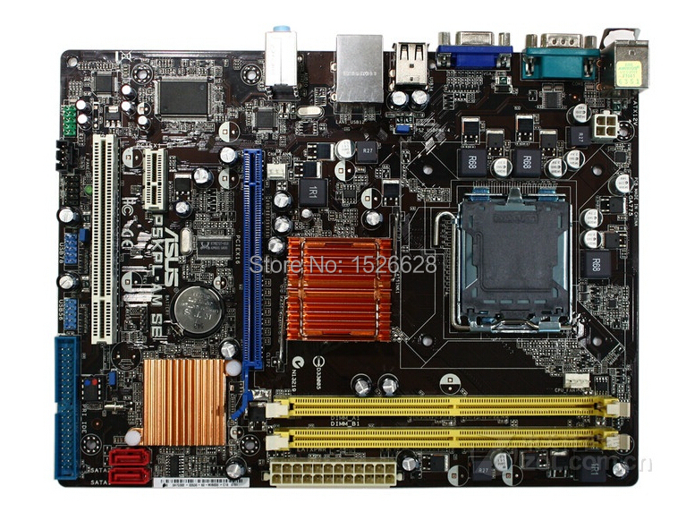 Free shipping 100% original motherboard for ASUS P5KPL-AM SE DDR2 LGA 775 Desktop Motherboard(China (Mainland))