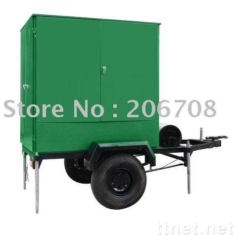 Mobile Type Vacuum Transformer Oil Purification Machine,Trailer mounted oil filtration plant
