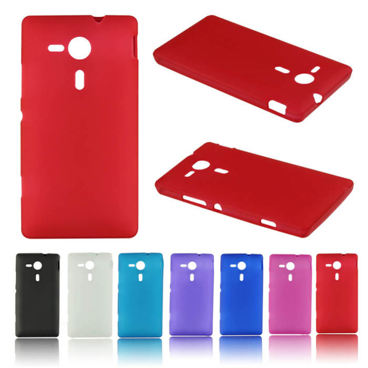 Delicate Matte TPU Silicone Gel Case Cover For Sony Xperia SP M35h Hot Selling(China (Mainland))