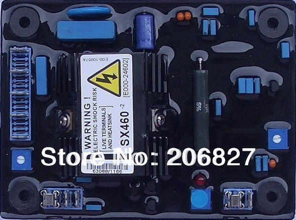 Фотография AVR SX460 FOR STAMFORD GENERATOR Regular FREE SHIPPING 460 AUTOMATIC VOLTAGE REGULATOR