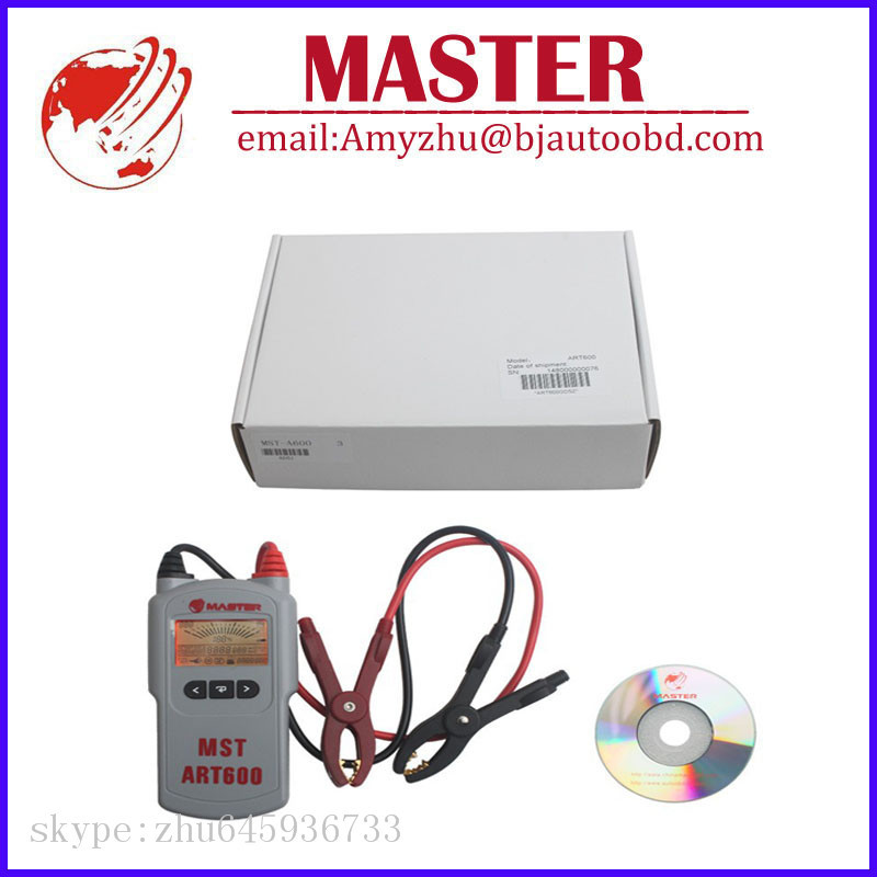 12V Lead Acid Battery Tester Battery Analyzer MST-A600 Automotive Electrical Testers & Test Leads Free Shipping(China (Mainland))