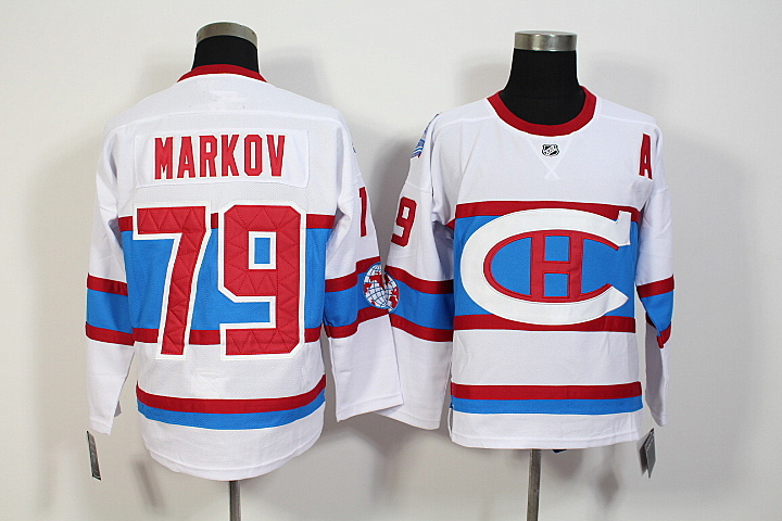 2016 Winter Classic Montreal Canadiens Artemi Panarin Jersey #79 Andrei Markov Home stitching High quality Ice Hockey Jerseys(China (Mainland))