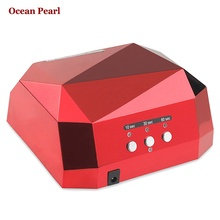 1006Long life 36W Nail Lamp UV Lamp Diamond Shaped Curing Nail Dryer Nail Care Machine for LED UV Gel Nail Polish nail tools