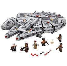 LEPIN Star Wars Millennium Falcon Figure Toys building blocks set marvel minifigures magformers