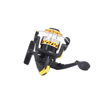 Free shipping Aluminum Body Spinning Reel High Speed G-Ratio 5.2:1Fishing Reels with Line