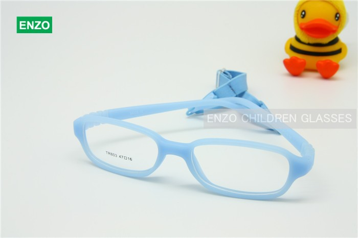 Kids Eyeglasses With Cord Size 47, One Piece Children Glasses Frame ...