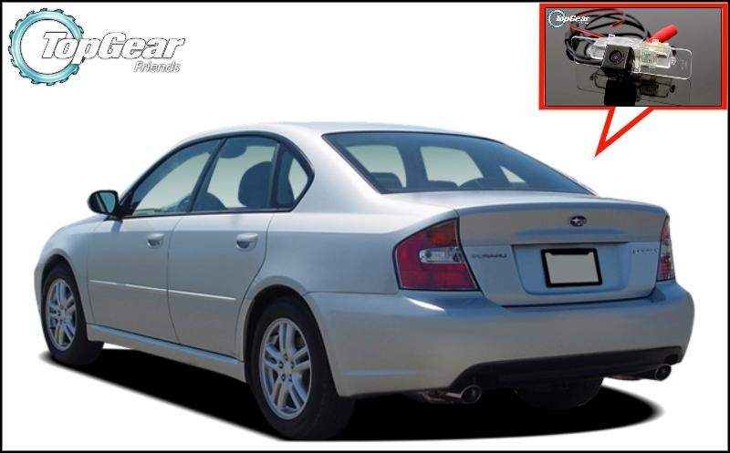 Car Camera For Subaru Legacy B4 / Liberty MK4 Sedan High Quality Rear View Back Up Camera For TopGear Fans | CCD + RCA(China (Mainland))