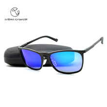 CHASING Personality Man Best Favor Metal sunglasses polarized sun glasses for Driving Fishing Outdoor Sport Unisex also LM2334