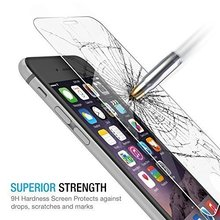 Tempered Glass Screen Protector Film coque iphone 4 4s 5 5s 5c SE 6 6s 7 Plus phone cases fundas luxury Cover Shockproof - ShenZhen Green Sky Technology Ltd store