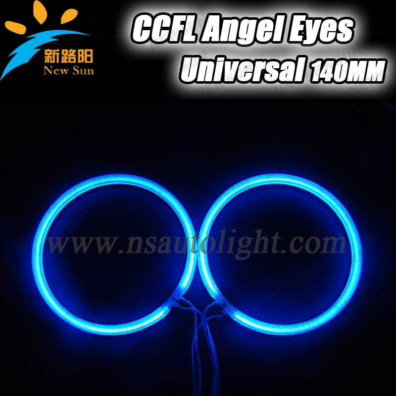Newest bright 9-16V DC CCFL angel eyes 144mm halo ring day time running lights fog lamp for Toyota car headlights free shipping(China (Mainland))