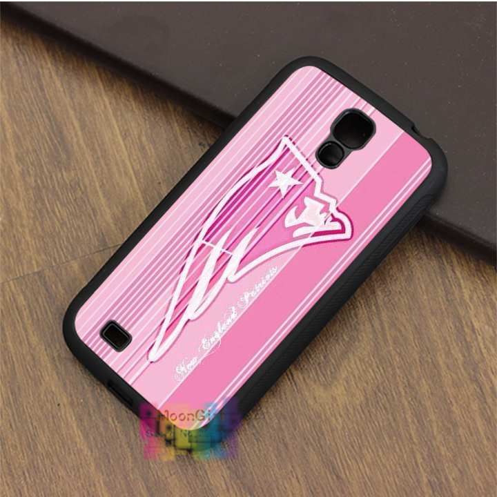 Logo of New England Patriots Pink fashion phone case for samsung galaxy S3 S4 S5 S6 S7 Note 2 Note 3 Note 4 #LI5922(China (Mainland))
