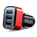 3 1A Intelligent Car Chargers Auto 3 USB mobile phone charger Automobiles Interior Electronics Accessorie Supplies