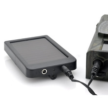 Hunting Camera Battery Solar Panel Charger External Power for Trail Camera HC300M HC500G HC500M(China (Mainland))