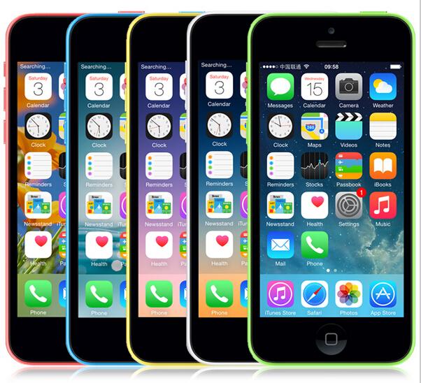 Hot Sale iPhone5c A1507 A1532 Original Unlocked Apple iPhone 5C 16GB/32GB Dual-Core I5C A5C iOS 8 32GB 3G WIFI Mobile Phone(China (Mainland))