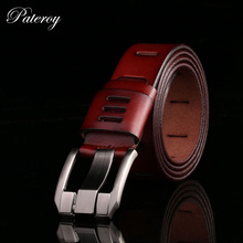Buy Designer Belts Men High Mens Belt Luxury Genuine Leather Belt Men Cowboy Pin Buckle Cinturones Cinto Masculino Luxo Riem for $11.38 in AliExpress store
