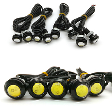 10pcs High Brightness DRL 18mm Eagle Eyes Daytime Running Light LED Car Work Lights Source Waterproof Parking Lamp Car Styling(China (Mainland))