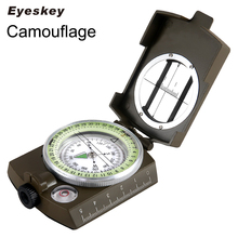 Buy Eyeskey Waterproof Survival Military Compass Hiking Camping Army Pocket Military Lensatic Compass Handheld Military Equipment for $13.85 in AliExpress store